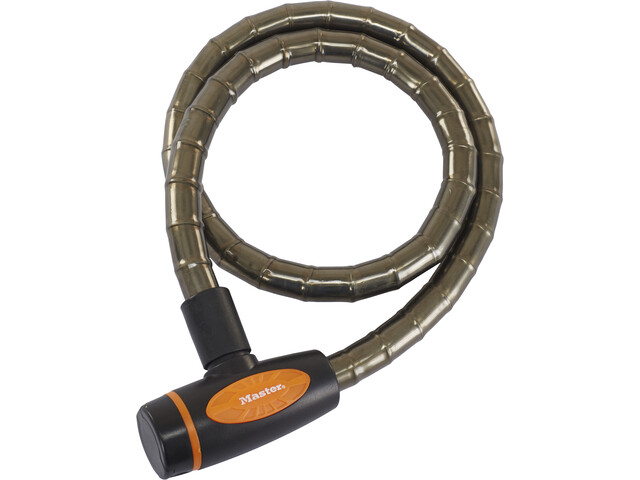 Masterlock 8228 PanzR Kabelslot 18 mm x 1.000 mm, deep grey
